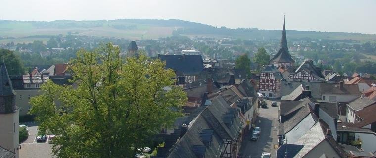 Blick über Bad Camberg