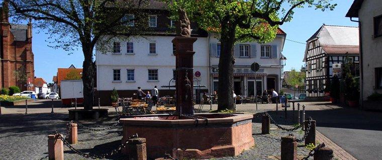 Vierröhrenbrunnen Langen