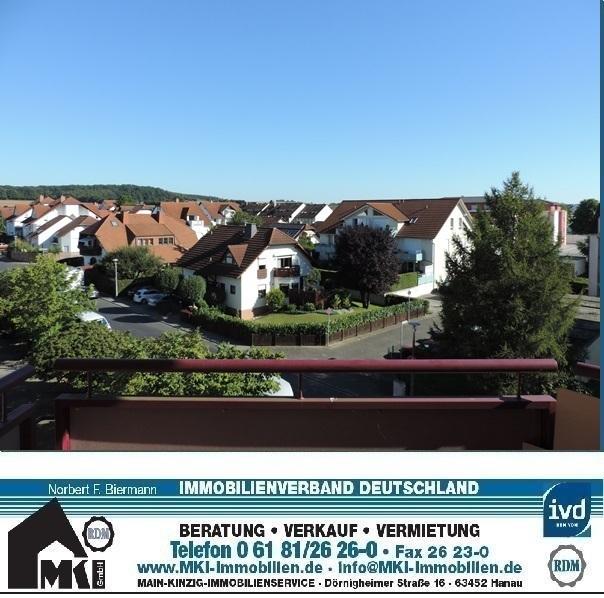 Topp 2-Zimmer-Wohnung in Langenselbold mit Buchbergblick