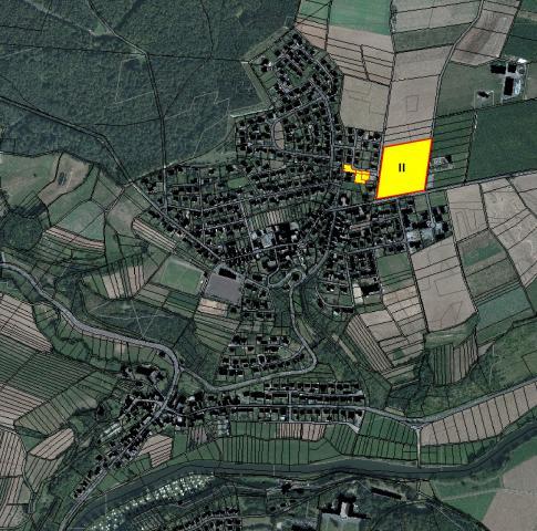 Bauplätze im Wohngebiet Auf der Höhe I + II in Gückingen