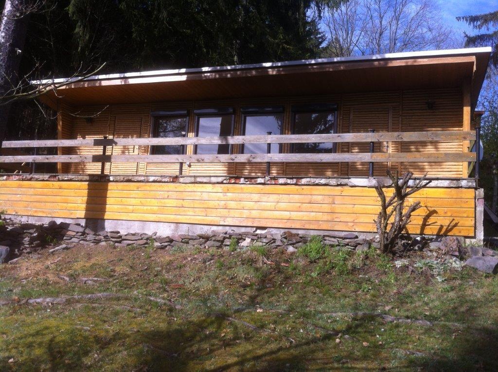 Paska/Linkenmühle – Bungalow in absolut ruhiger Waldlage am Hohenwarte-Stausee