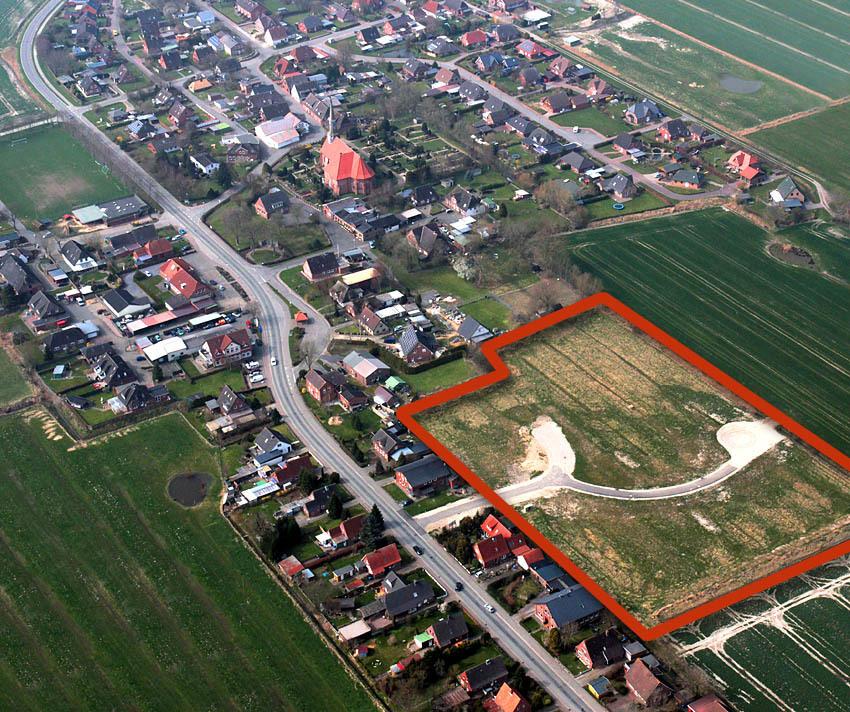 Der ideale Platz für Ihre eigenen vier Wände: Das Baugebiet im Herzen von Neuenkirchen/Dithmarschen