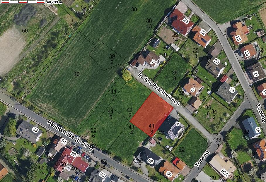Bauplatz im Ortsteil Ehringshausen - In den Brachwiesen 6