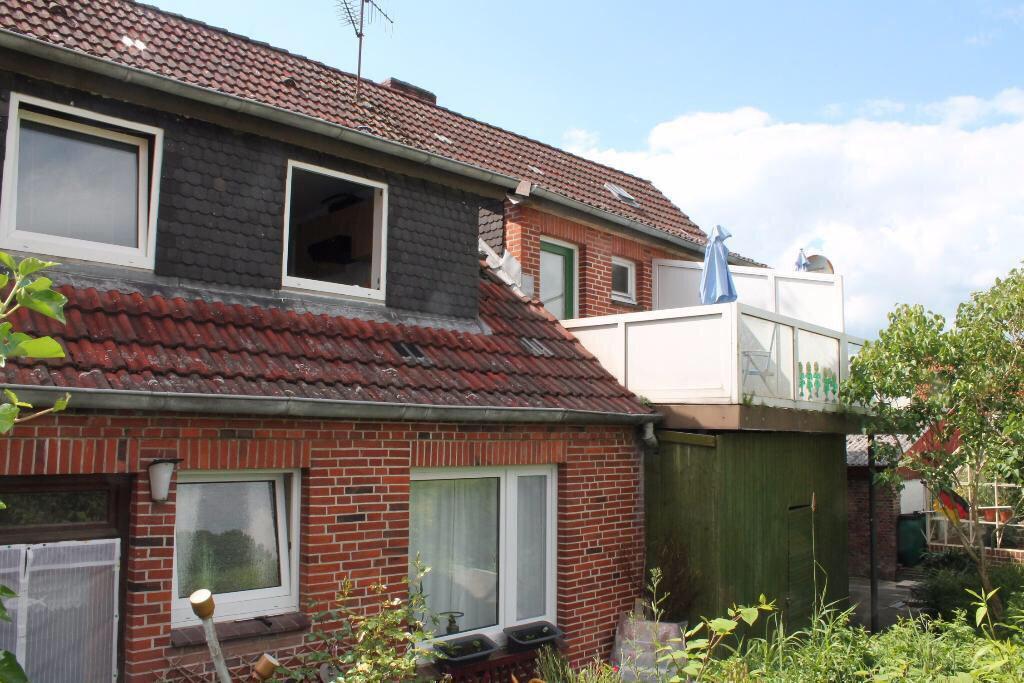 Große Terrassenwhg. mit EBK + Garten am Deich in idyllischer Lage