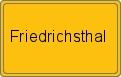 Wappen Friedrichsthal
