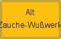 Wappen Alt Zauche-Wußwerk