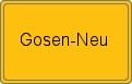 Wappen Gosen-Neu
