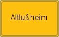 Wappen Altlußheim