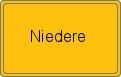 Wappen Niedere