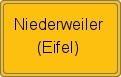 Wappen Niederweiler (Eifel)