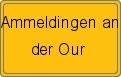 Wappen Ammeldingen an der Our