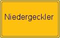 Wappen Niedergeckler