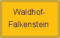 Wappen Waldhof-Falkenstein