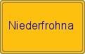 Wappen Niederfrohna