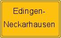 Wappen Edingen-Neckarhausen