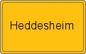 Wappen Heddesheim