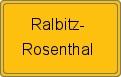 Wappen Ralbitz-Rosenthal