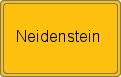Wappen Neidenstein