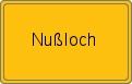 Wappen Nußloch