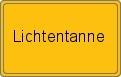 Wappen Lichtentanne