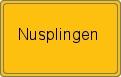 Wappen Nusplingen