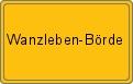 Wappen Wanzleben-Börde