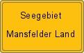 Wappen Seegebiet Mansfelder Land