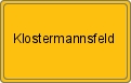 Wappen Klostermannsfeld