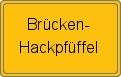 Wappen Brücken-Hackpfüffel
