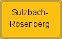 Wappen Sulzbach-Rosenberg