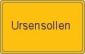 Wappen Ursensollen