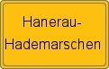 Wappen Hanerau-Hademarschen