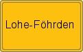 Wappen Lohe-Föhrden