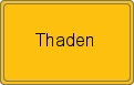 Wappen Thaden