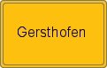 Wappen Gersthofen