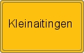 Wappen Kleinaitingen