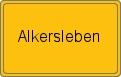 Wappen Alkersleben