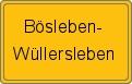 Wappen Bösleben-Wüllersleben