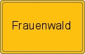 Wappen Frauenwald