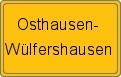 Wappen Osthausen-Wülfershausen
