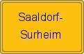 Wappen Saaldorf-Surheim