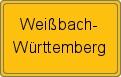 Wappen Weißbach-Württemberg