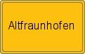 Wappen Altfraunhofen