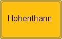 Wappen Hohenthann