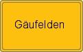 Wappen Gäufelden