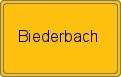 Wappen Biederbach