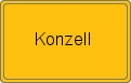 Wappen Konzell