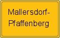 Wappen Mallersdorf-Pfaffenberg