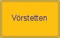 Wappen Vörstetten
