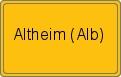 Wappen Altheim (Alb)